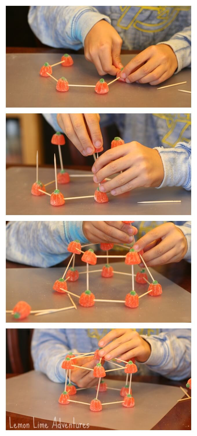 Building with candy Science Activity