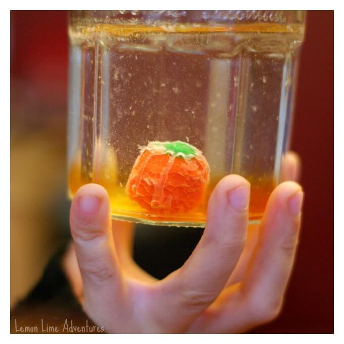 Dissolving Halloween Candy Science Fun