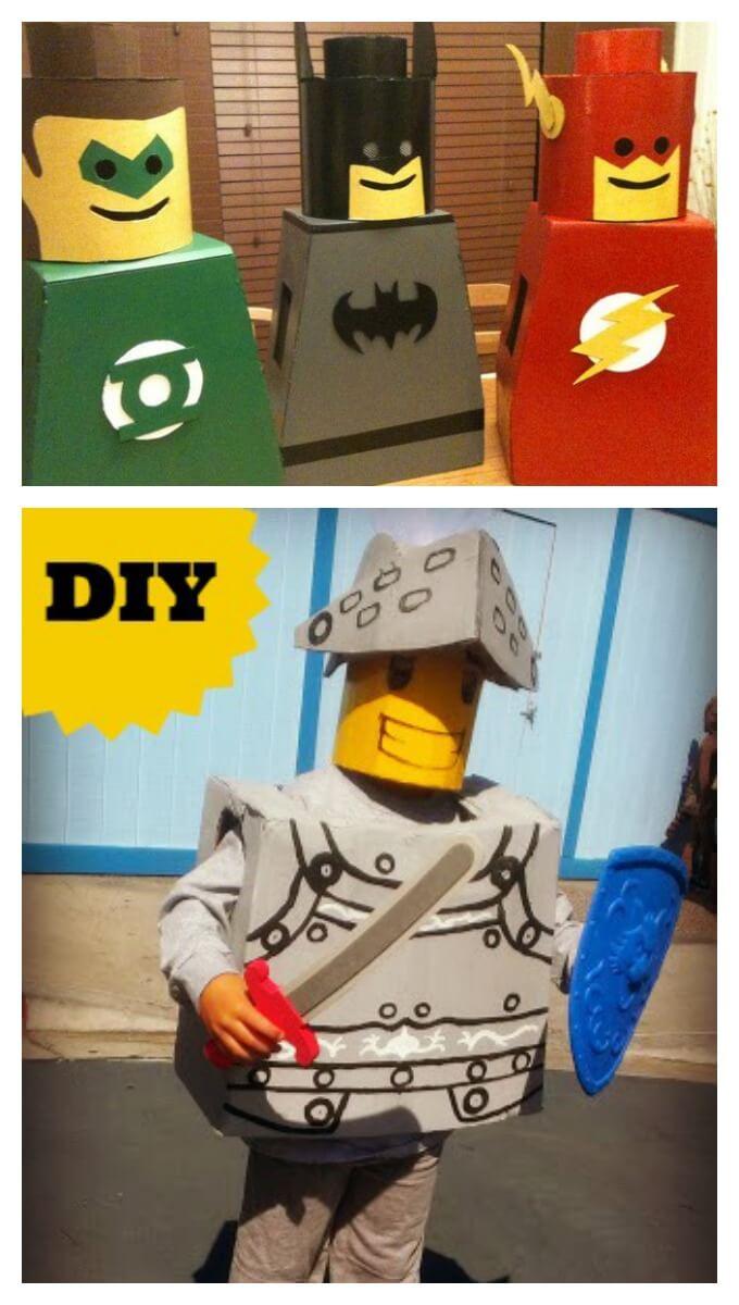 Amazing diy lego costumes knights and superhero lego costume ideas solutioingenieria Gallery