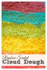 Rainbow Scented Cloud Dough