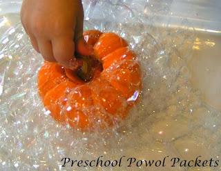 bubble science pumpkins