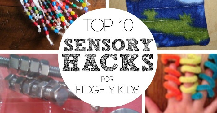 Fidgety Hacks for Sensory Kids Facebook