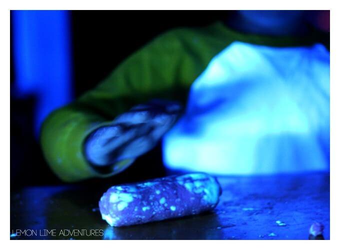 Luminescent playdough