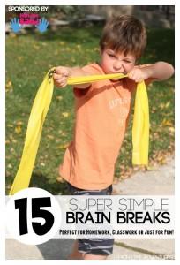 15 Super Simple Brain Break Exercises