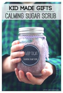 Calming Sugar Scrub Kids Can Make