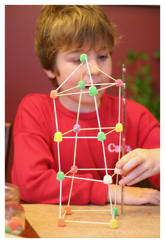 Building Structures with Gumdrop Candy
