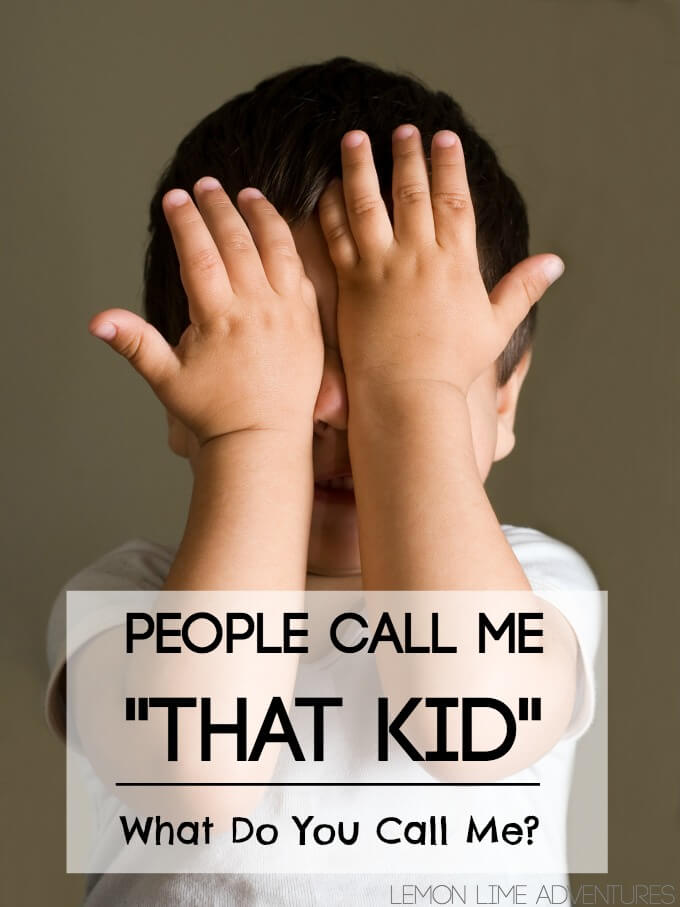 What do you call That Kid
