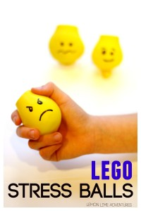 Lego Stress Balls