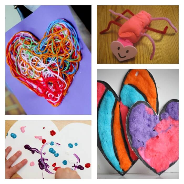 Top 10 valentines day ideas for toddlers for Valentines day art and crafts for preschoolers