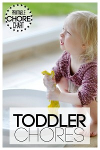 Toddler Printable Chore Chart