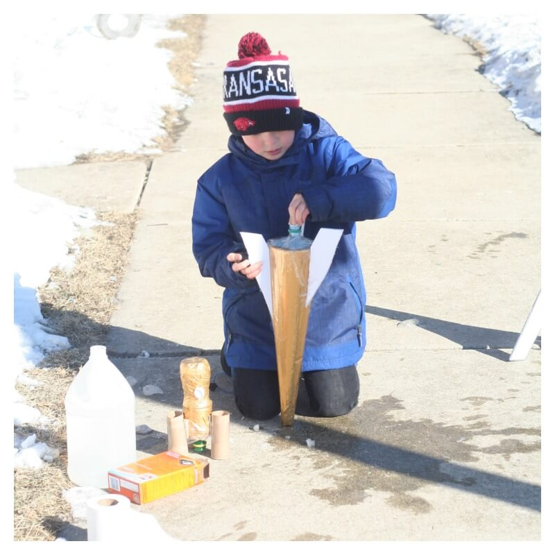 Creating a Baking Soda Rocket