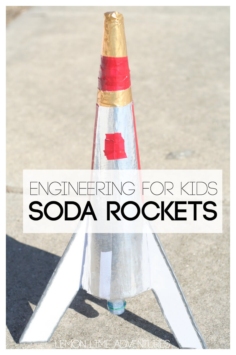 Engineering for Kids Baking Soda Rockets