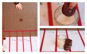 DIY Plinko Game {Play with Oreos}
