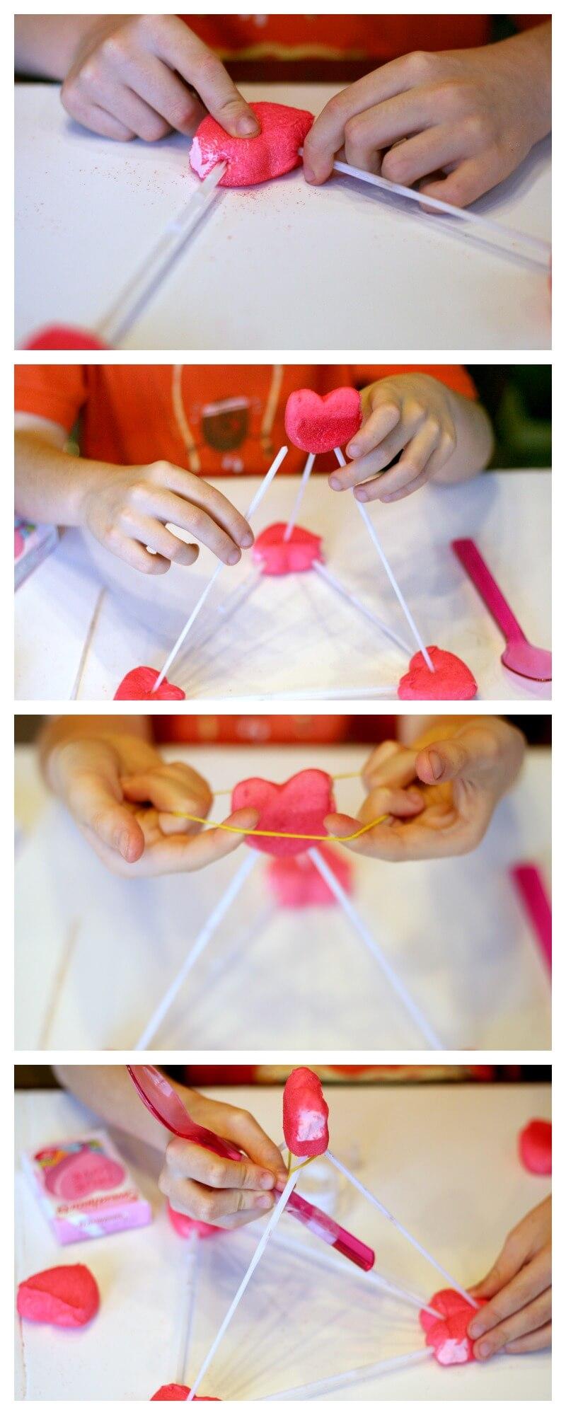 Valentines Peeps Catapult
