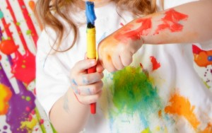 Tips for Handling Messy Play Like a Rockstar
