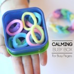Calming Busy Box for Busy Fidgeting Fingers