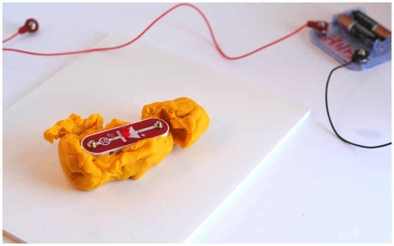Failed Electric Play Dough with Snap Circuits