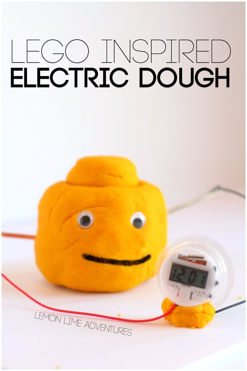 Lego Inspired Electric Play Dough