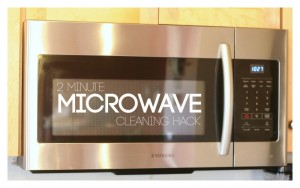 2 Minute Microwave Cleaning Hack
