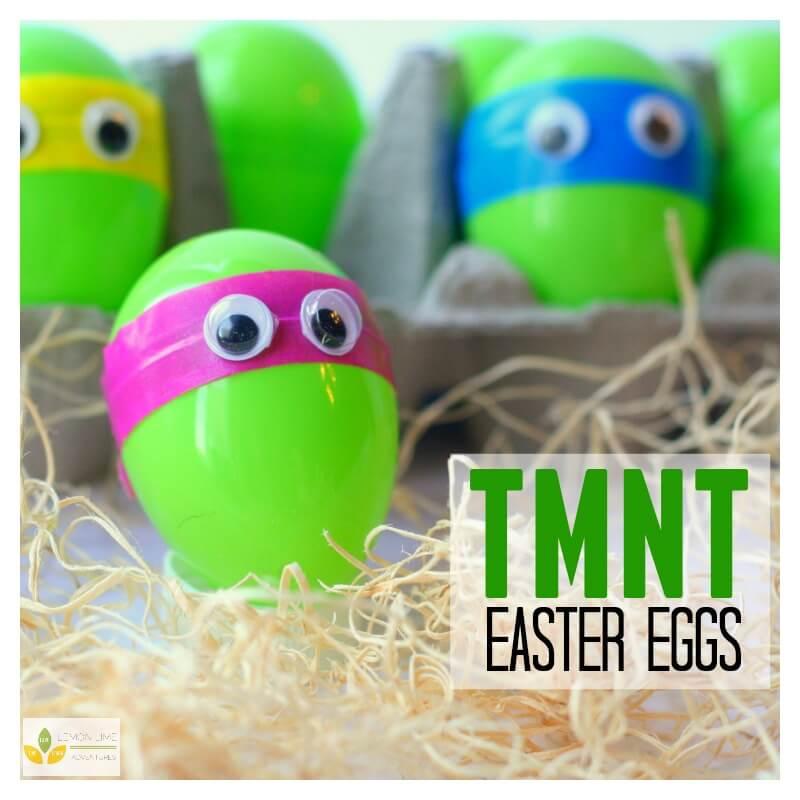 Teenage Mutant Ninja Turtle Easter Egs
