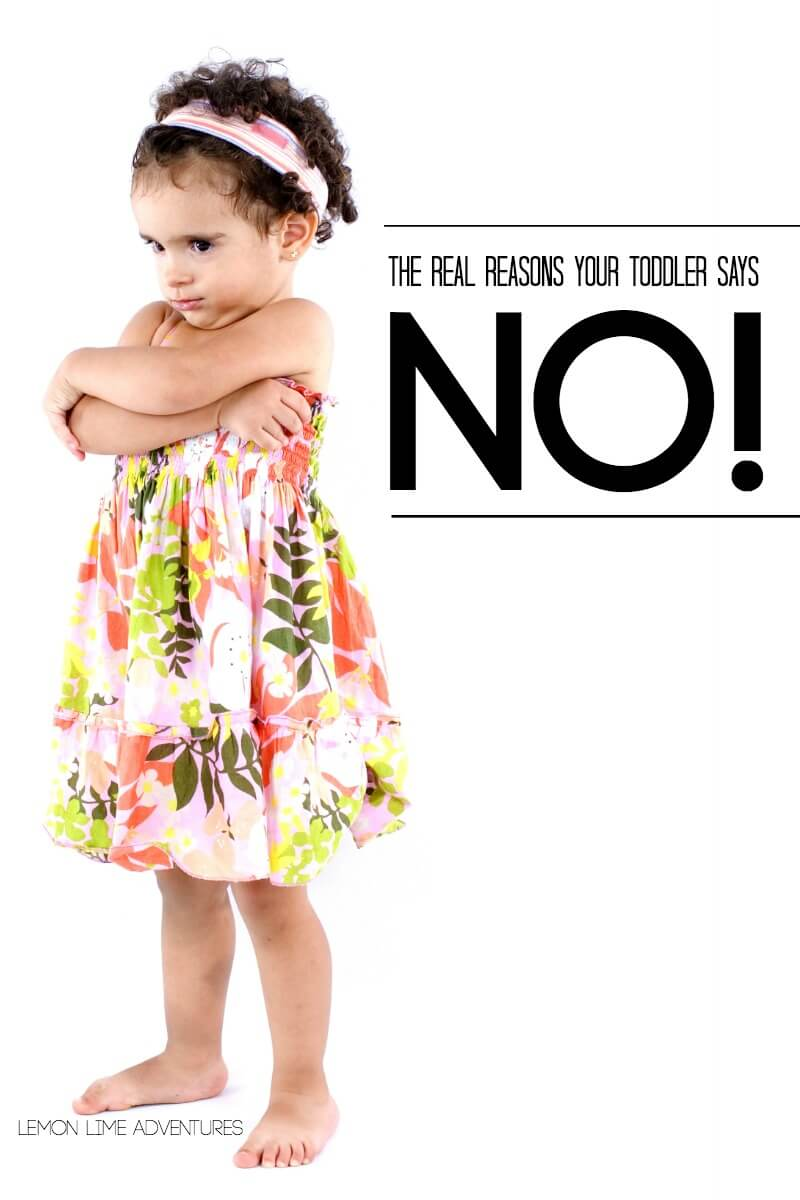 The Real Reason Your Toddler Says No