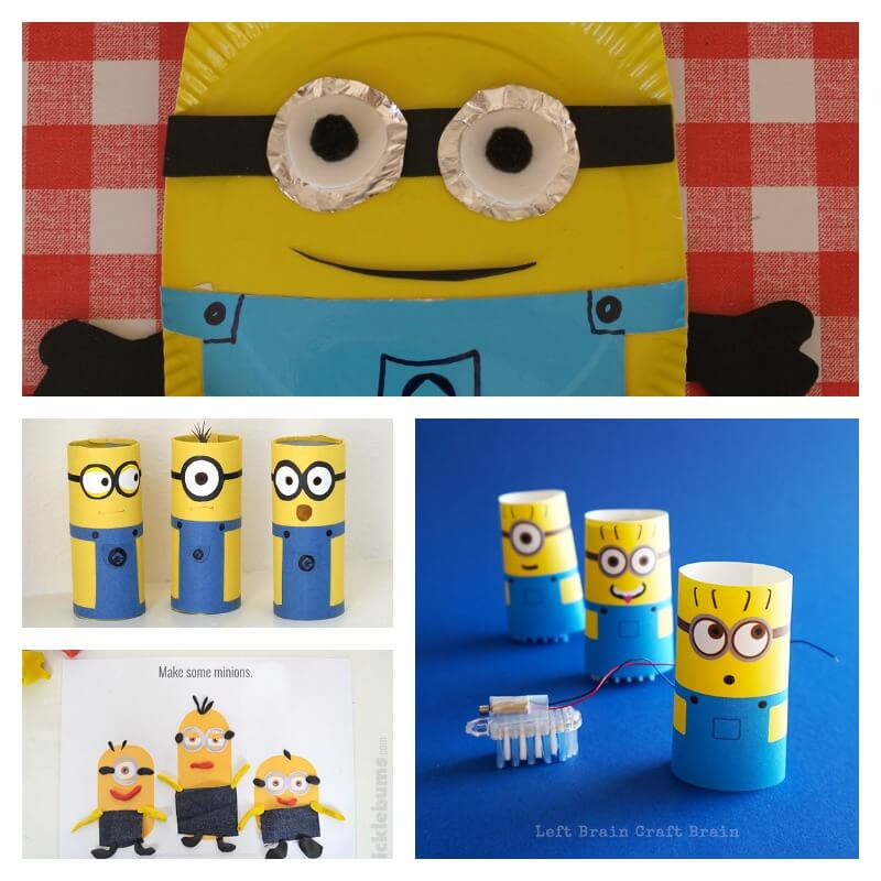 Minion Birthday Party Games and Crafts