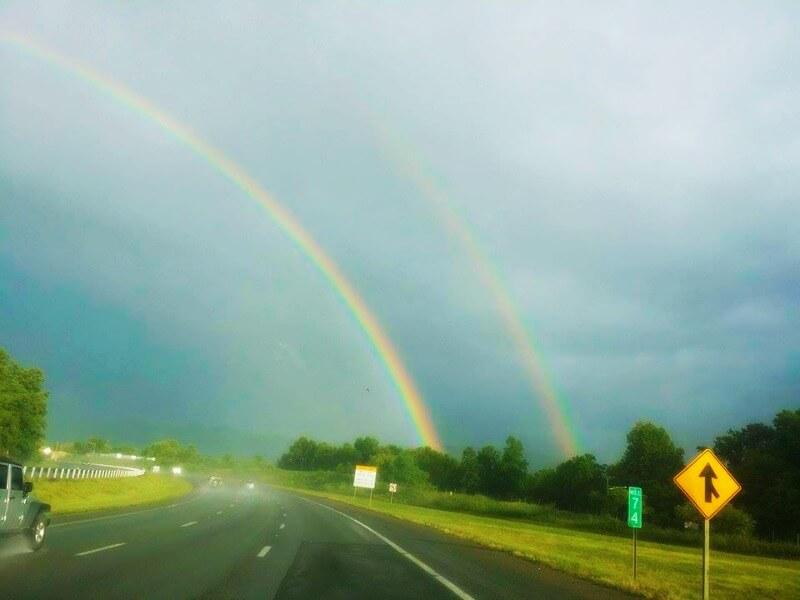 Rainbow Slow Moment