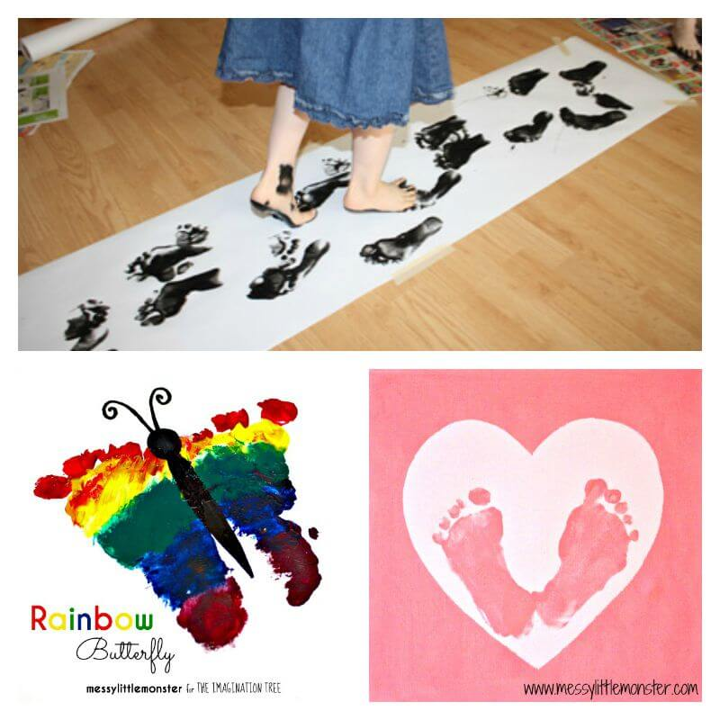 Feet Crafts and Footprints
