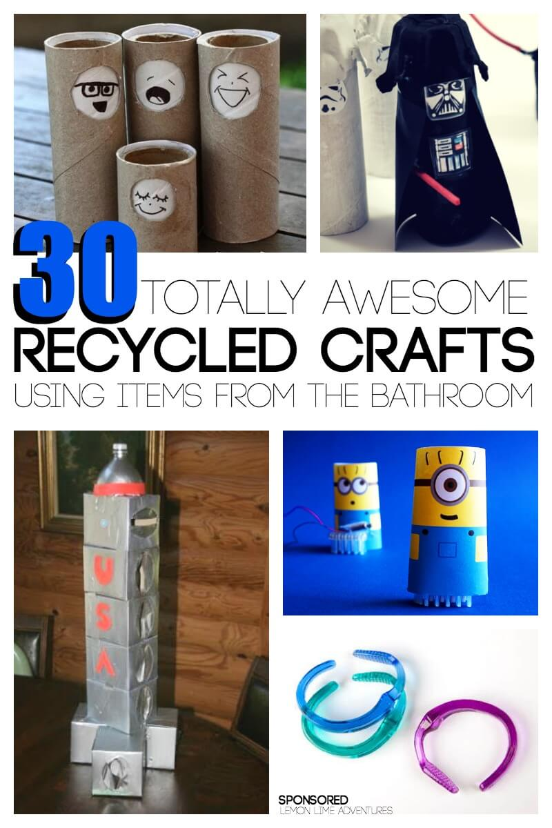 30 totally awesome recycled crafts