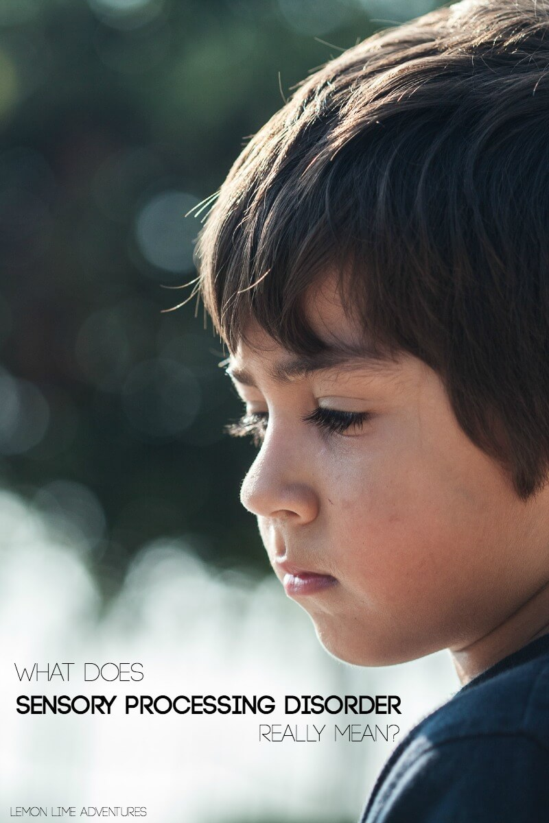 What Does Sensory Processing Disorder Really Mean for loved ones