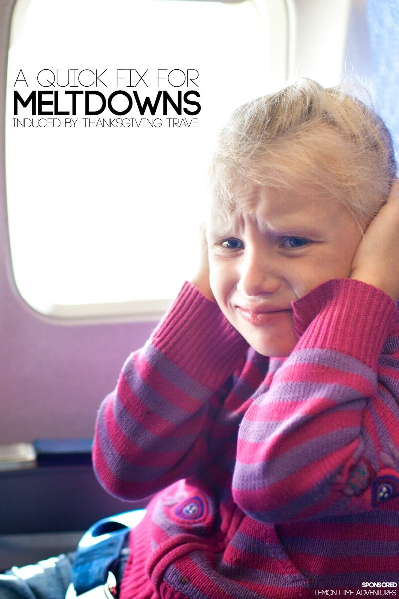 A Quick Fix for Meltdowns Caused by Thanksgiving Travel