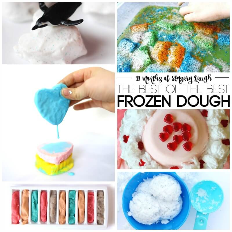 12 Months of Sensory Dough The Best of the Best Frozen Dough Recipes