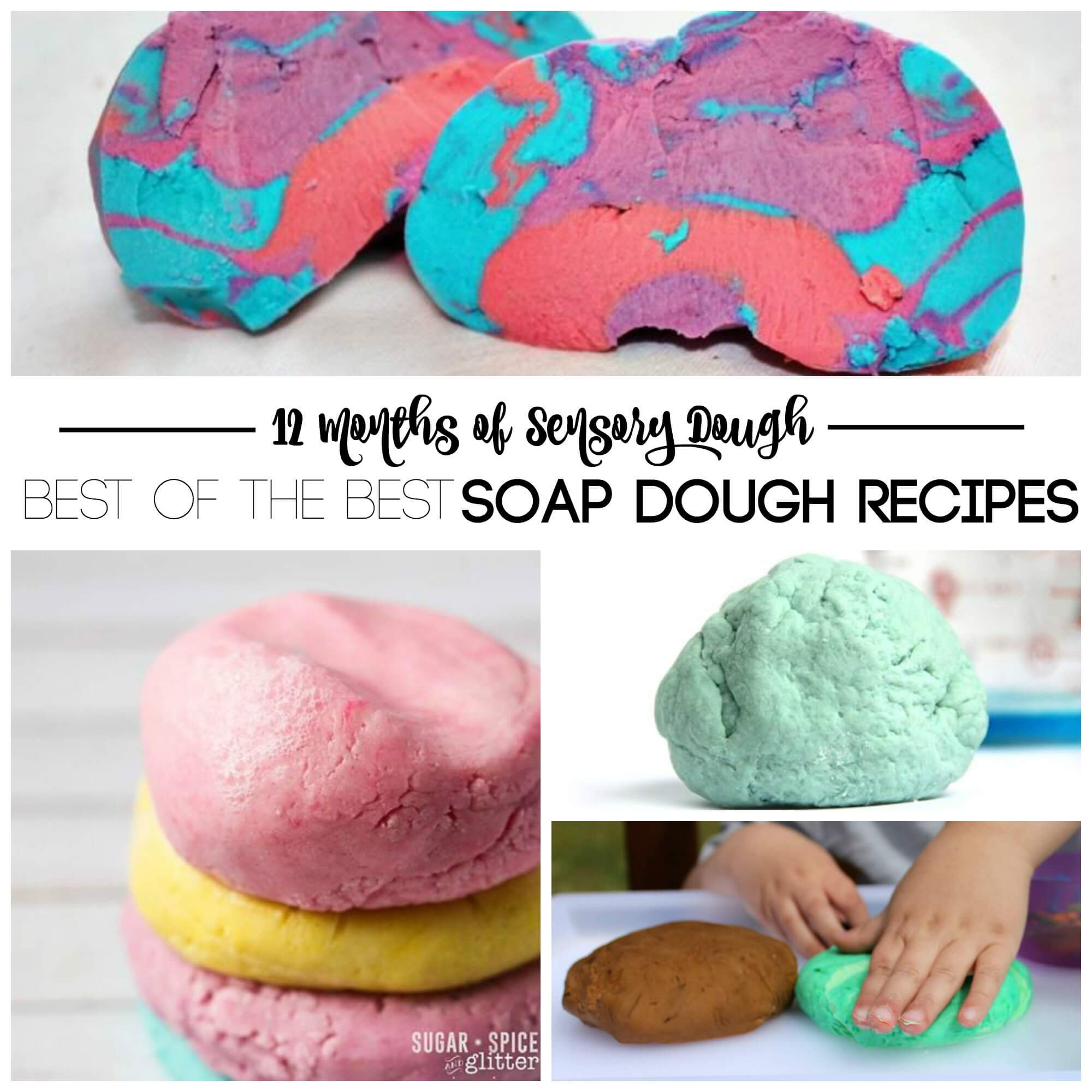 12 months of soap dough recipes