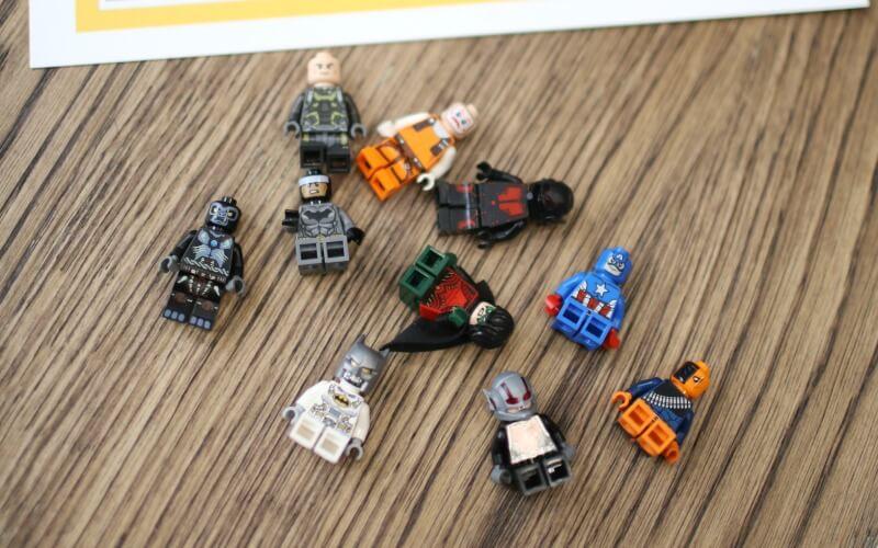 Lego Combinations of Ten
