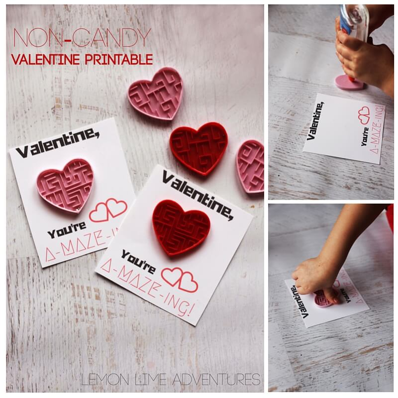 Sensory Friendly Valentine's Printable for Sensory Seeking Kids. Nix the sugary junk and send your children to school with these fun fidgets for their friends!