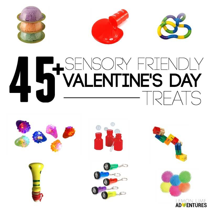 Sensory Friendly Valentines Day Treats