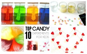 Top Ten Candy Science Experiments for Kids