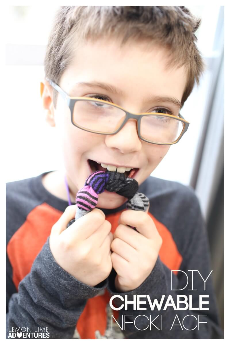 DIY Chewable Necklace Jewelry for Oral Sensory Input