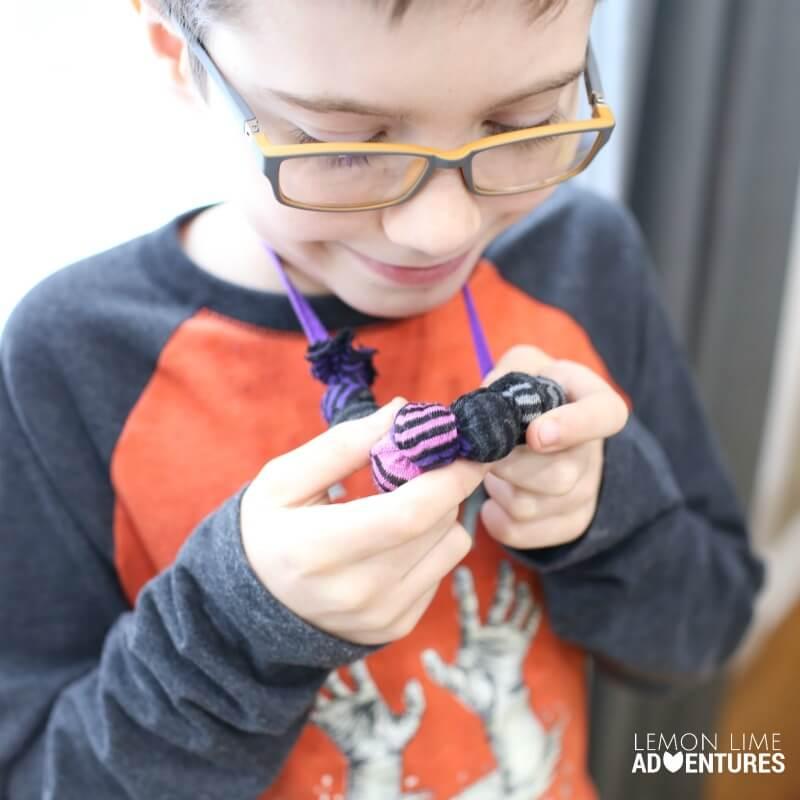 DIY Chewable Necklace for Older Kids