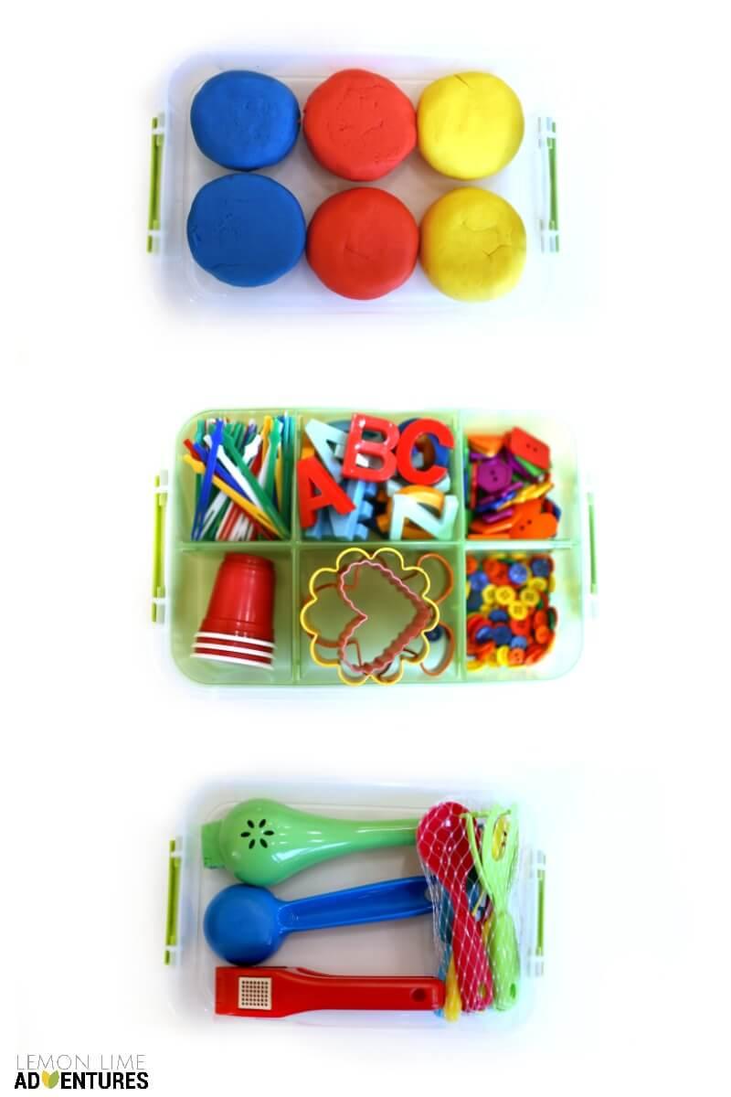 DIY Play Dough Kit for Kids