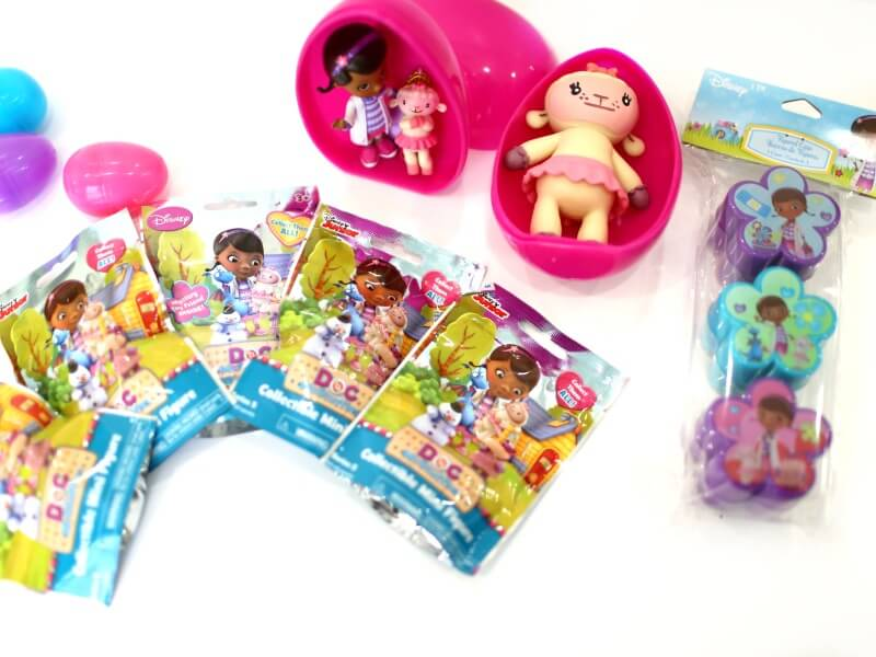 Doc Mcstuffins Easter Baskets and Surprise Eggs