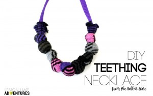 DIY Chewable Teething Necklace for Older Kids