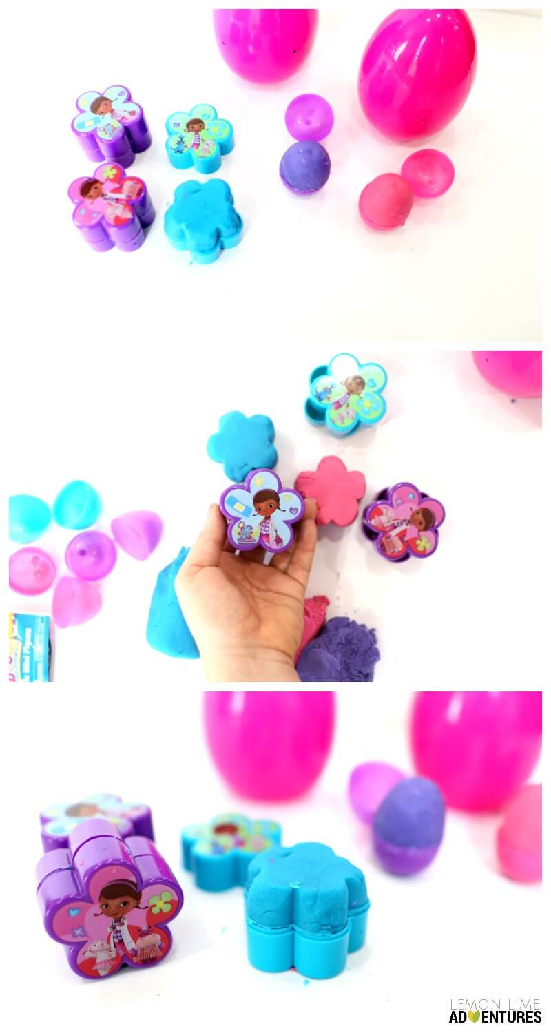 Surprise Easter Eggs Playdough Kits