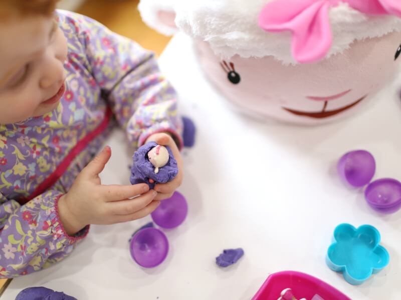 Toddler Surprise Eggs Doc McStuffins Easter Ideas