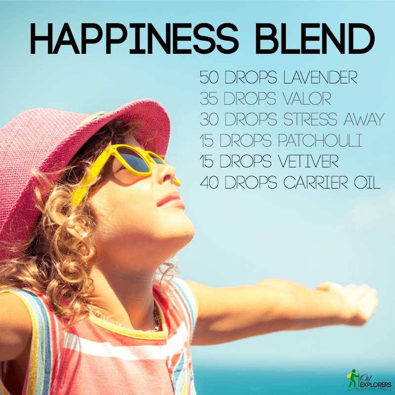 Happiness Blend Essential Oils