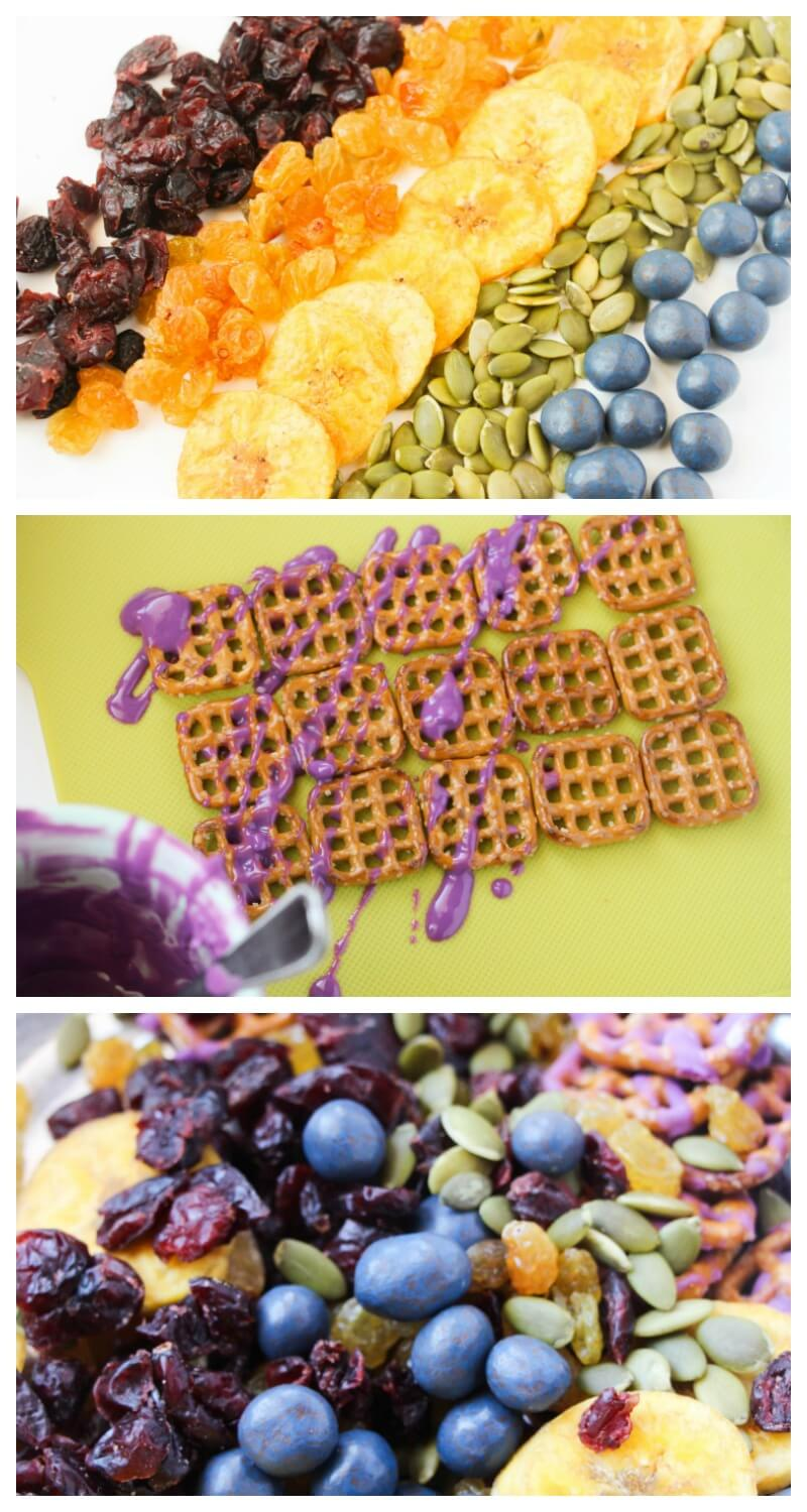 How to Make Rainbow Trail Mix