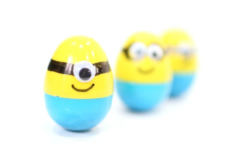 Minion Easter Eggs Weeble Wobbles