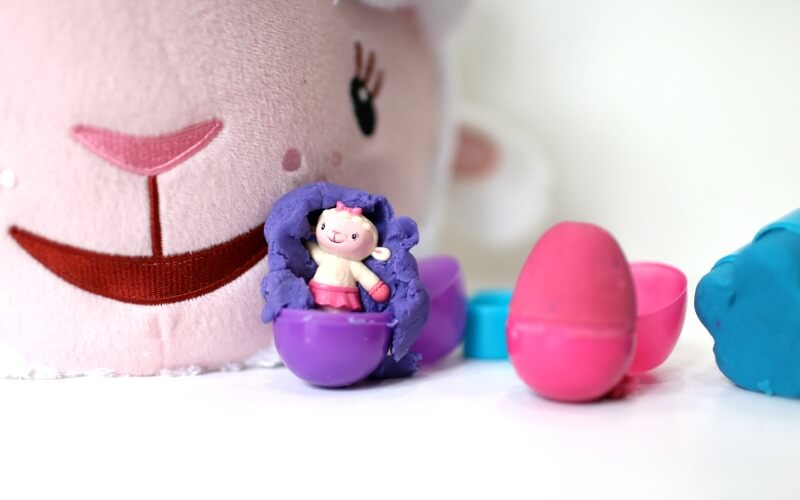 Doc McStuffins Playdough Kit and Easter Basket