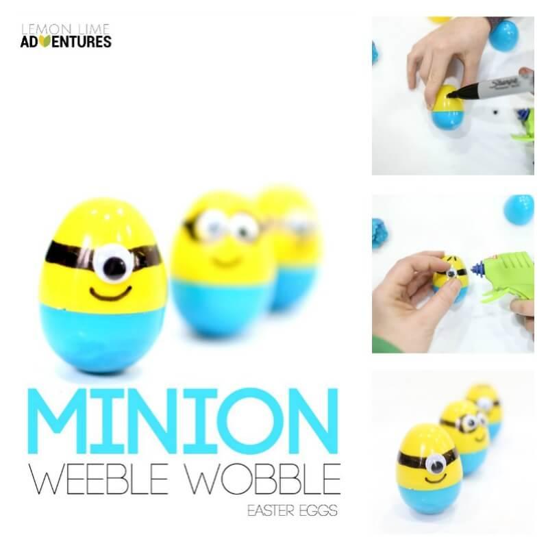 Weeble Wobble Easter Eggs