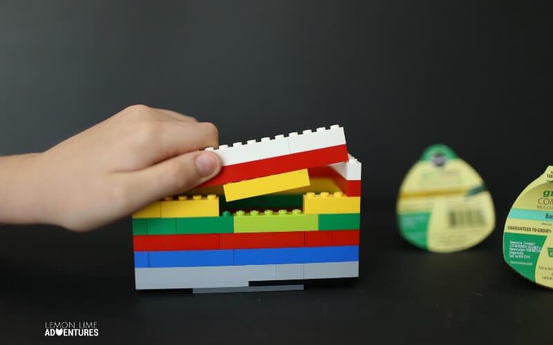 Building a Lego Herb Garden
